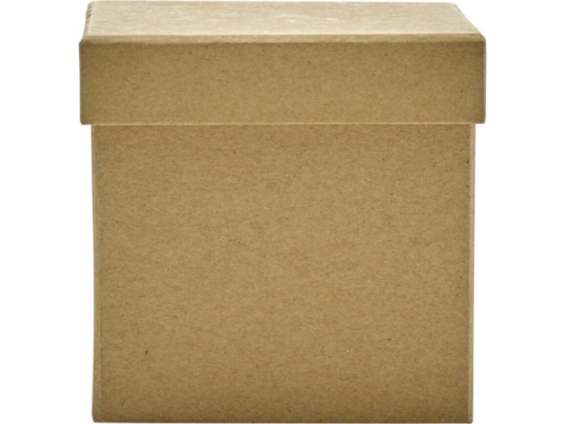 Schreibtischständer 'Volume' aus Karton – Braun bedrucken, Art.-Nr. 011999999_7295