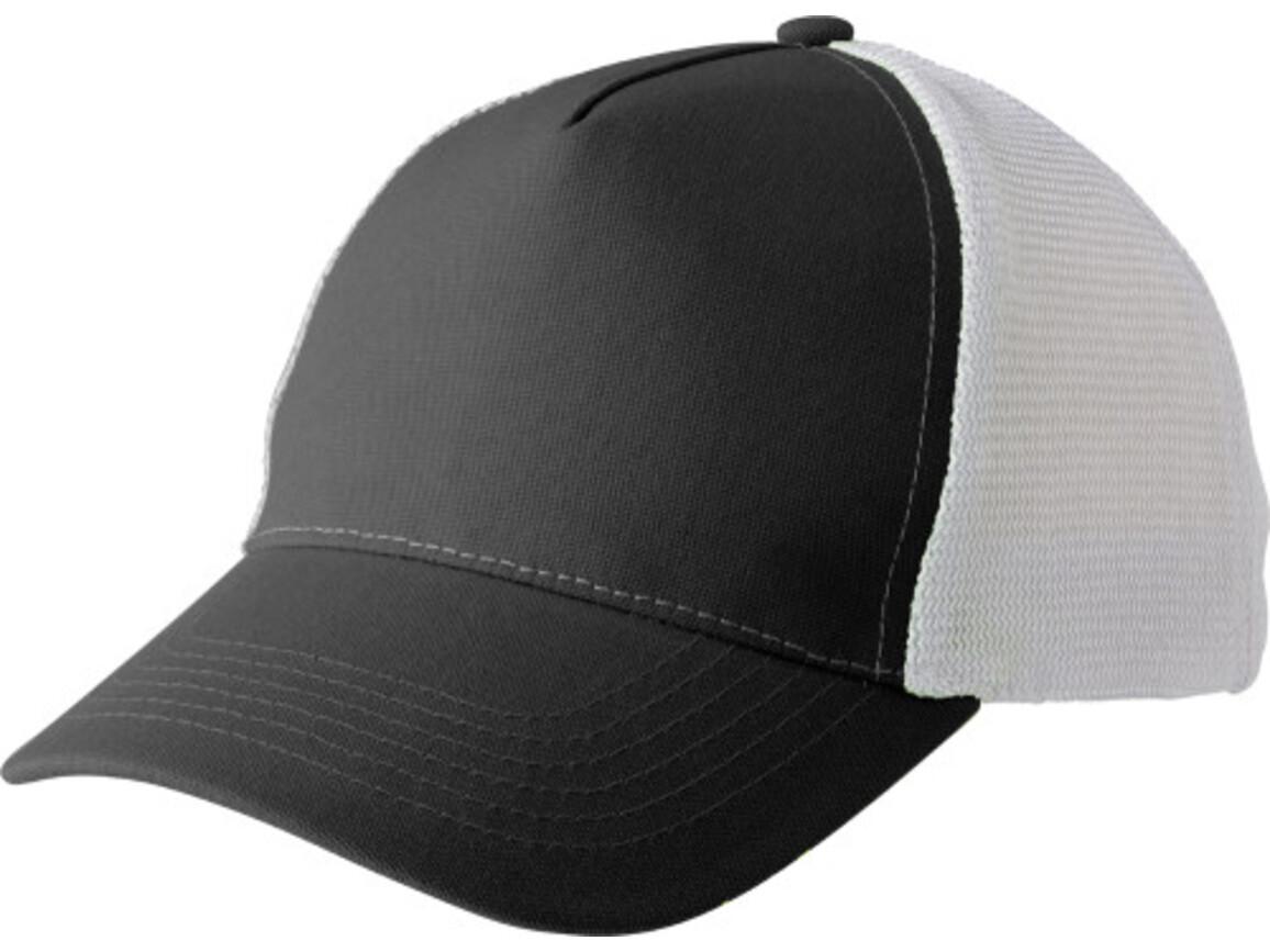 Baseball-Cap 'Aviator' aus Polyester – Schwarz bedrucken, Art.-Nr. 001999999_7491