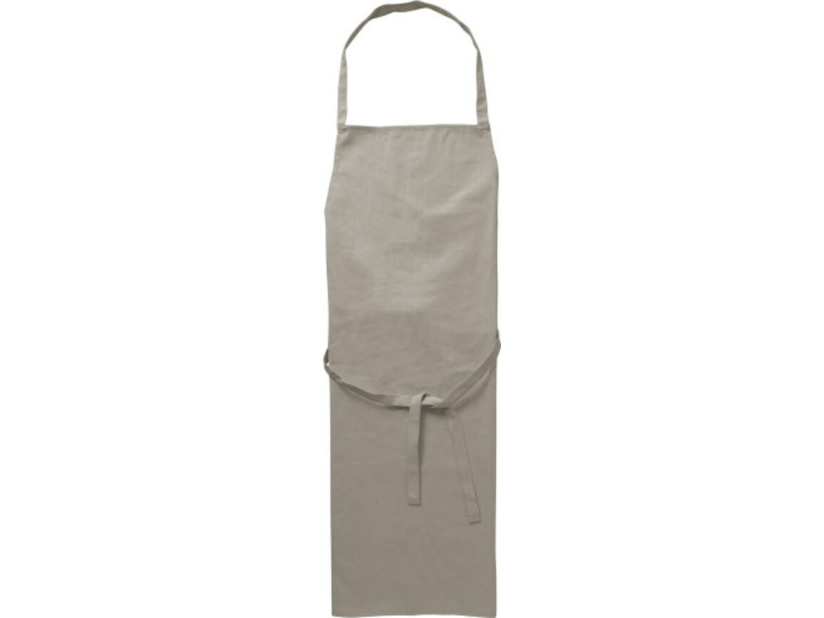Küchenschürze 'Profi' aus Baumwolle – Grau bedrucken, Art.-Nr. 003999999_7600