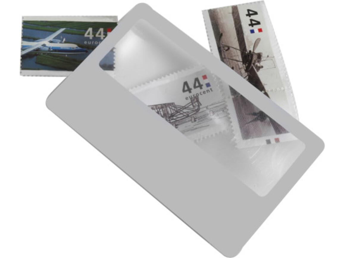 Lupe 'Watson' aus Kunststoff – Weiß bedrucken, Art.-Nr. 002999999_7705