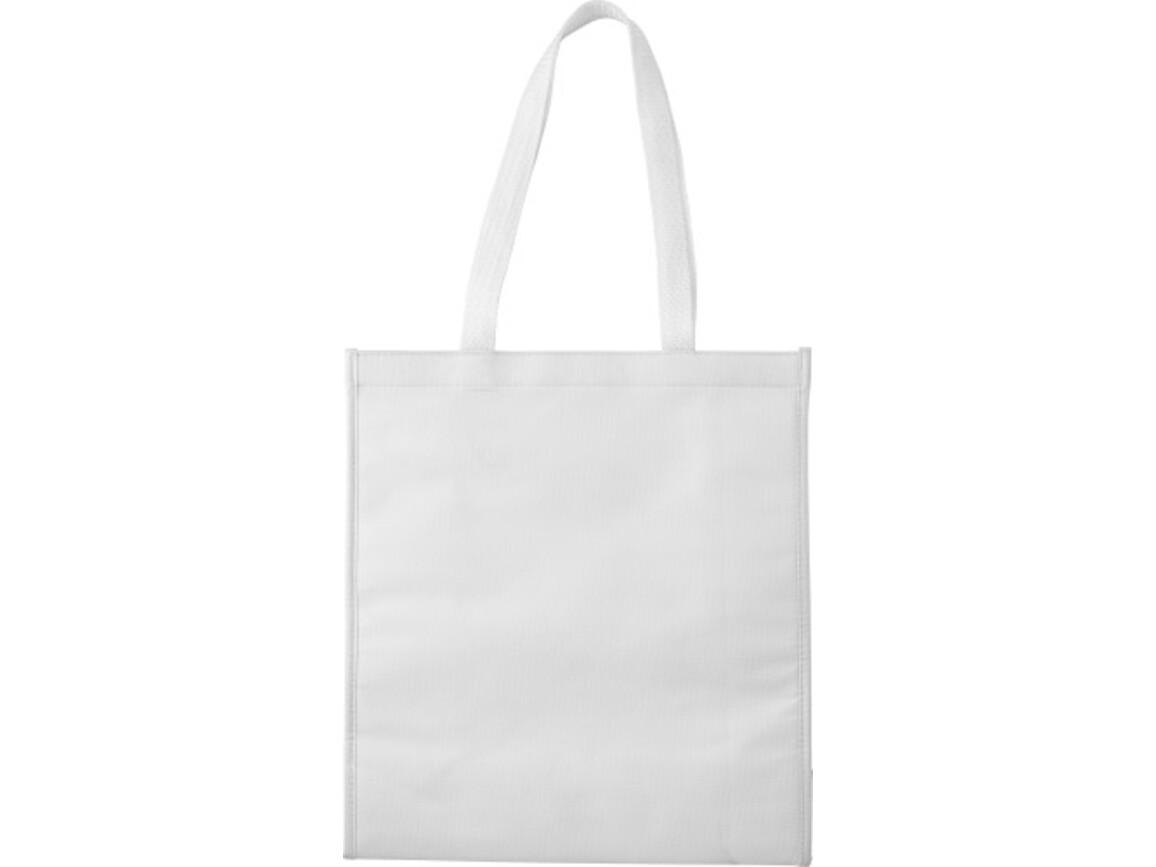 Kühltasche 'Flexi' aus Non-woven – Weiß bedrucken, Art.-Nr. 002999999_7823