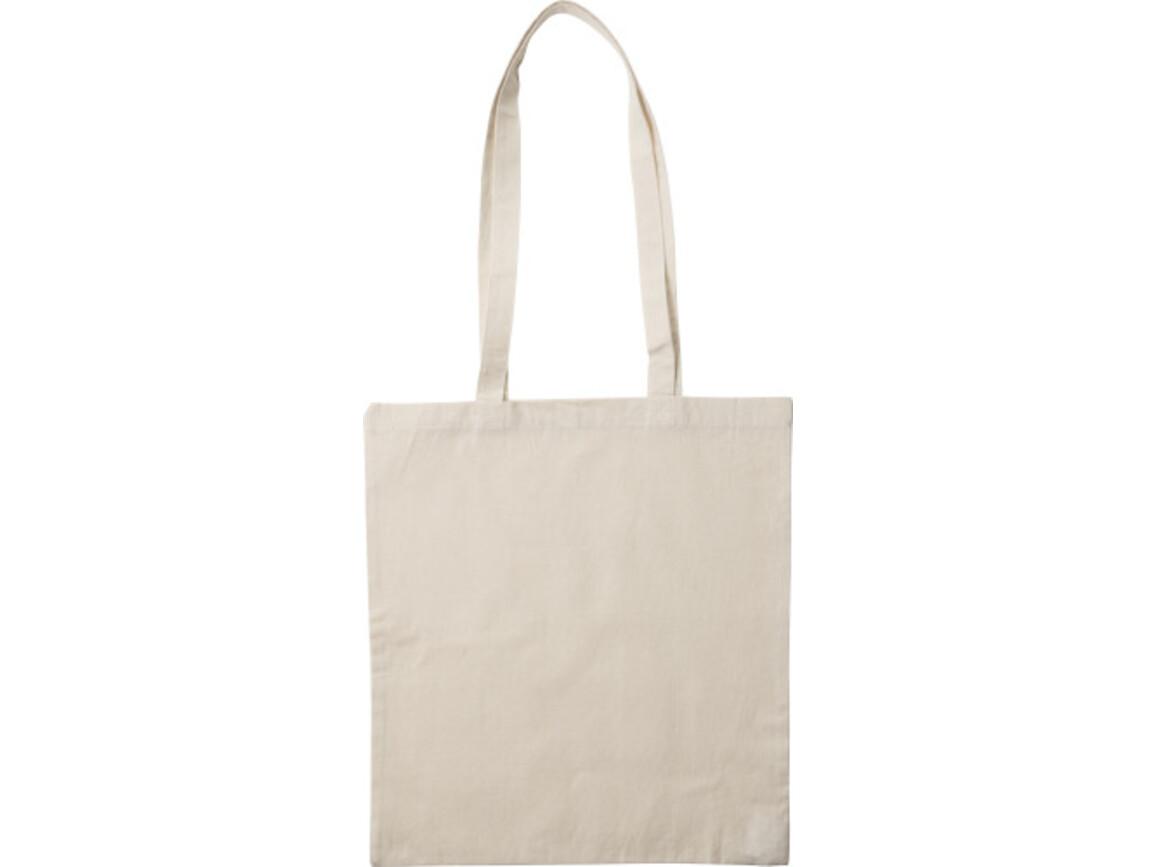 Einkaufstasche 'Jutta' aus Baumwolle – Khaki bedrucken, Art.-Nr. 013999999_7851