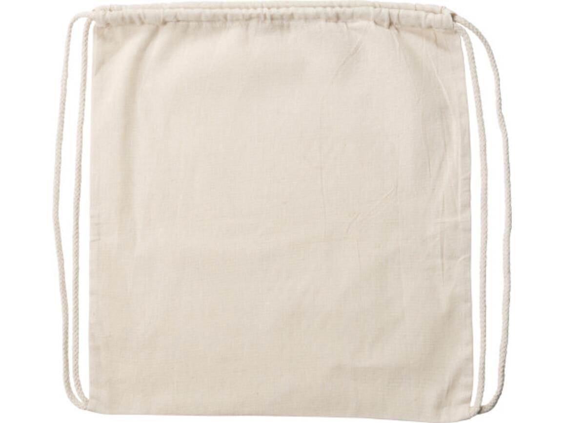 Schuh-/Rucksack (Turnbeutel) 'Alternative' aus Baumwolle – Khaki bedrucken, Art.-Nr. 013999999_7852
