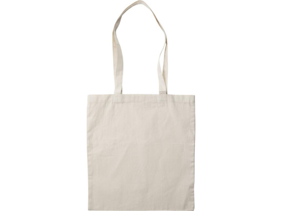 Einkaufstasche 'Canton' aus Baumwolle – Khaki bedrucken, Art.-Nr. 013999999_7863
