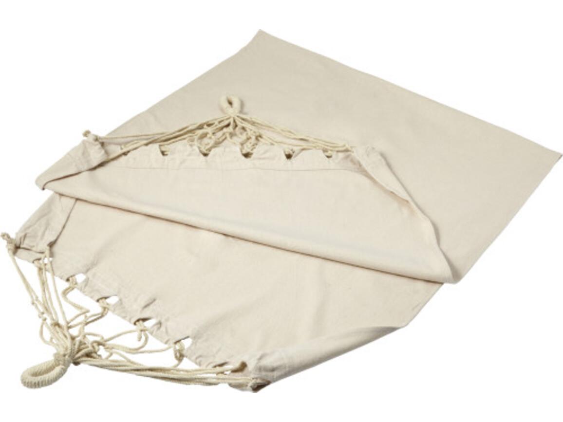 Hängematte 'Chiller' aus Canvas – Khaki bedrucken, Art.-Nr. 013999999_7870