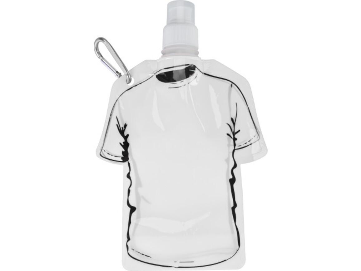 Trinkflasche 'Soccer' aus PP – Weiß bedrucken, Art.-Nr. 002999999_7877