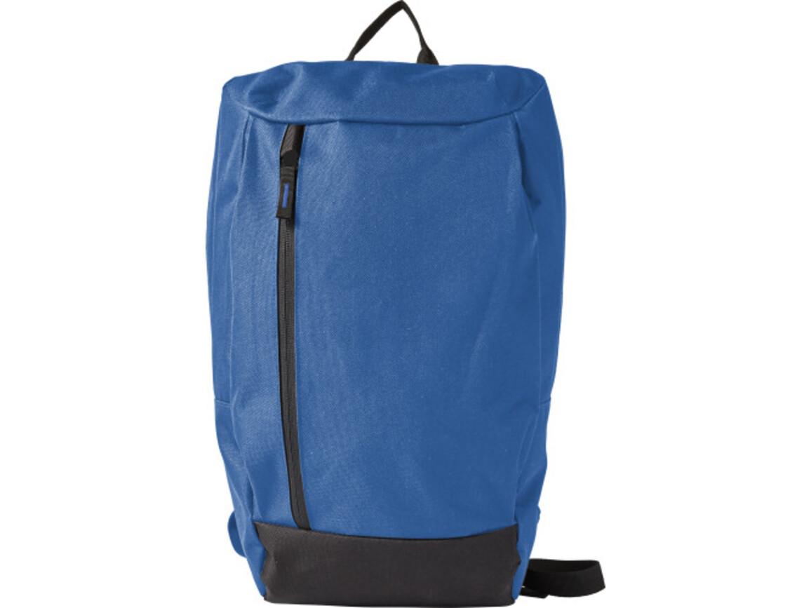 Rucksack 'Native' aus Polyester – Blau bedrucken, Art.-Nr. 005999999_7944