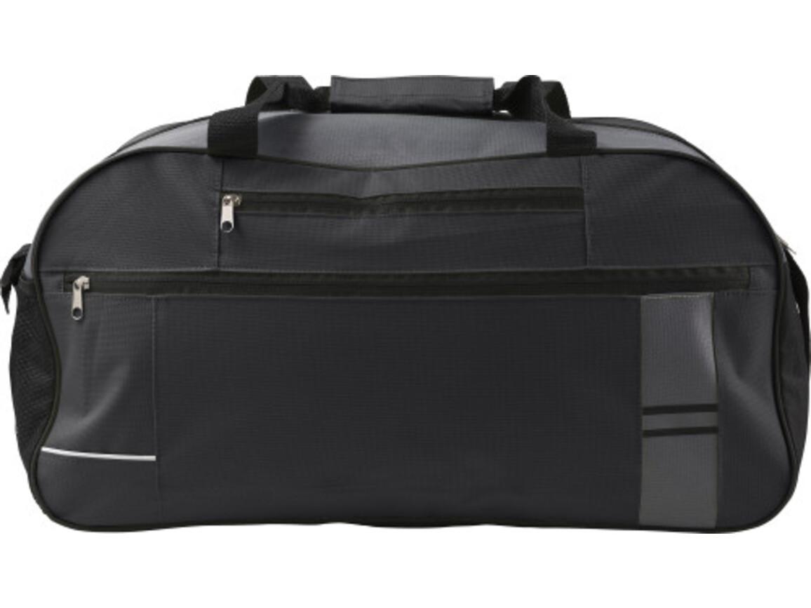 Sporttasche 'Bantana' aus Polyester – Schwarz bedrucken, Art.-Nr. 001999999_7949