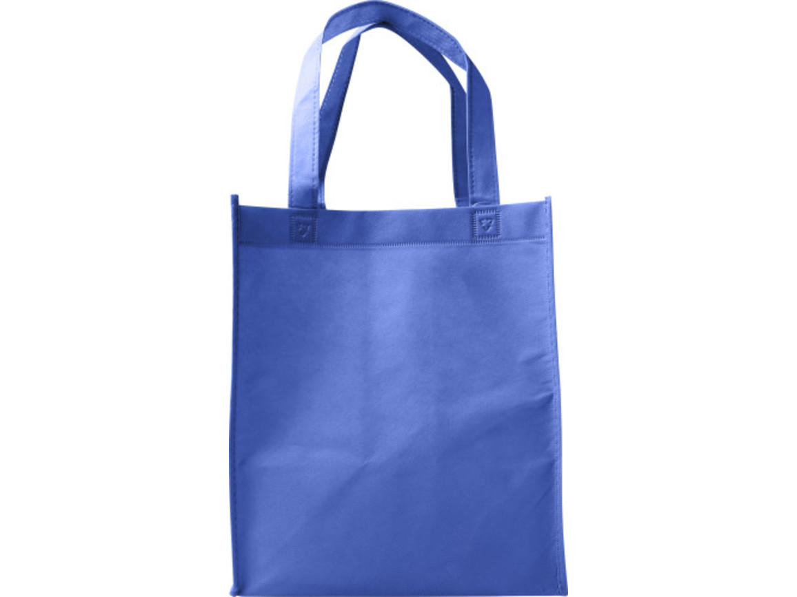 Einkaufstasche 'Town' aus Non-Woven – Blau bedrucken, Art.-Nr. 005999999_7957