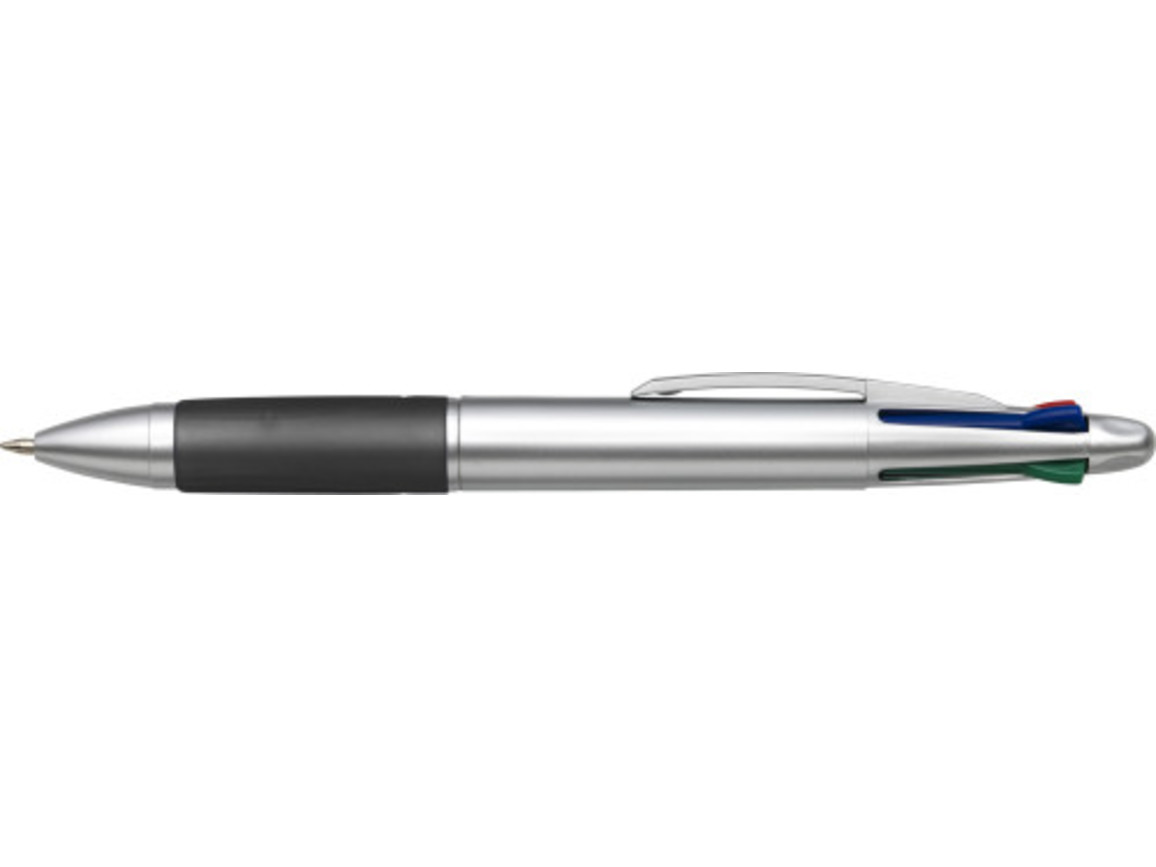 Kugelschreiber 'Las Palmas' aus Kunststoff – Schwarz bedrucken, Art.-Nr. 001999999_8123