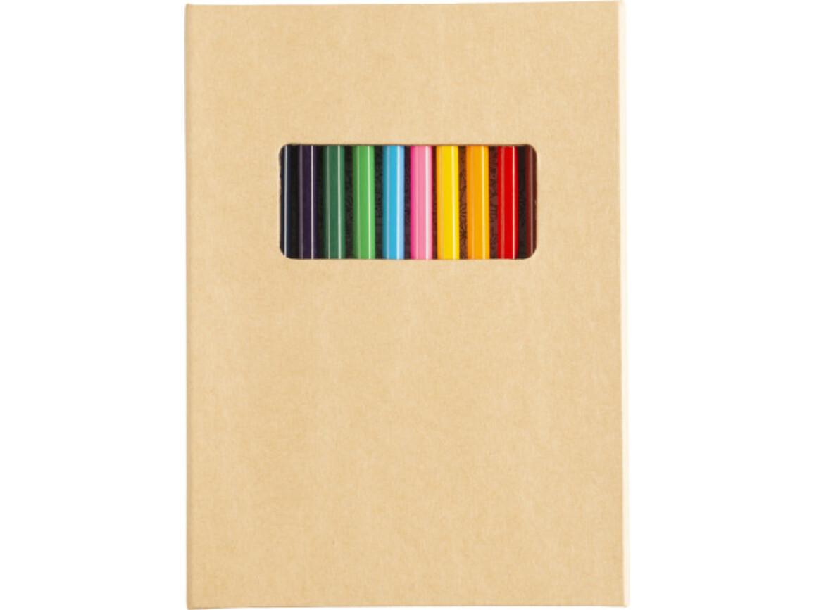 Malmappe 'Atelier' aus Karton – Braun bedrucken, Art.-Nr. 011999999_8342