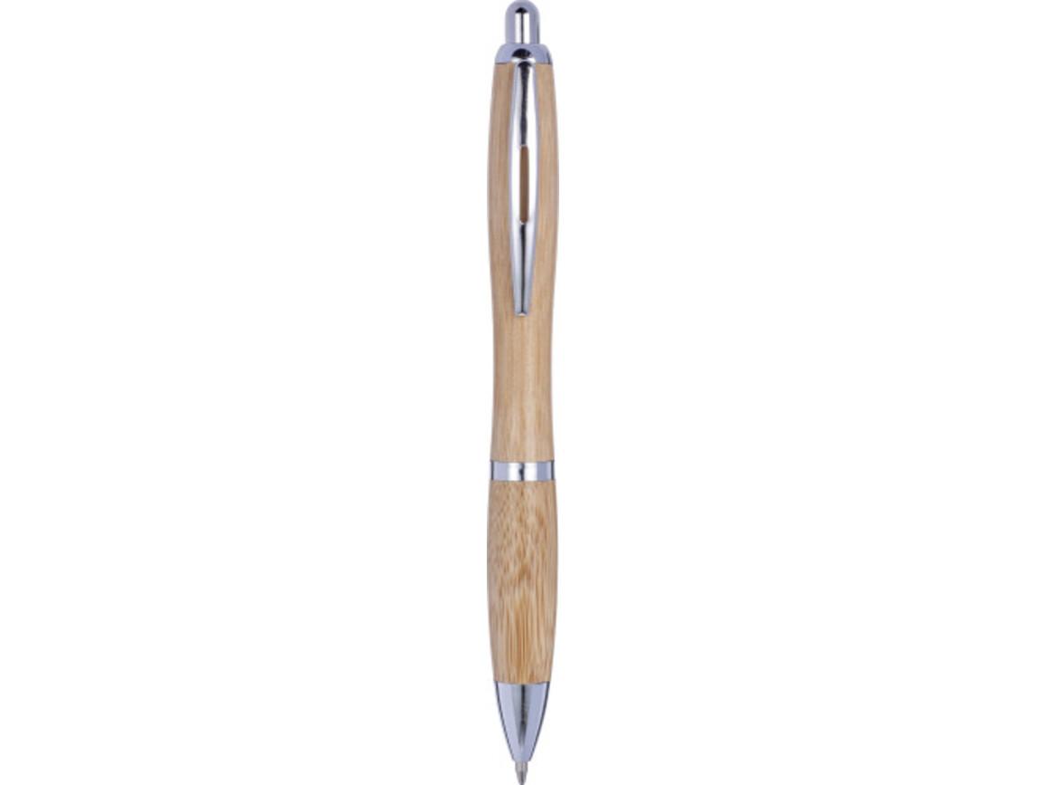 Bambus Kugelschreiber 'Bali' – Braun bedrucken, Art.-Nr. 011999999_8524