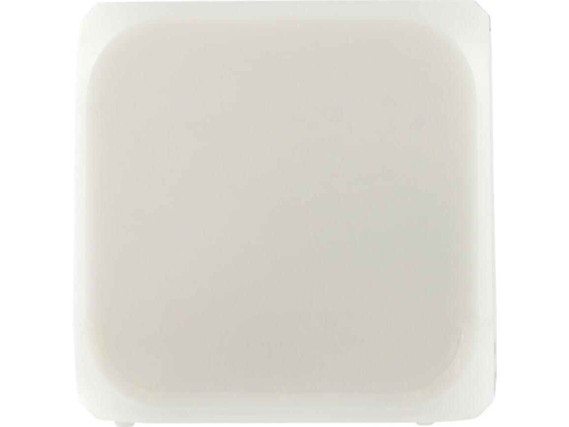 Wecker 'Icecube' in Würfel-Form – Weiß bedrucken, Art.-Nr. 002999999_8533
