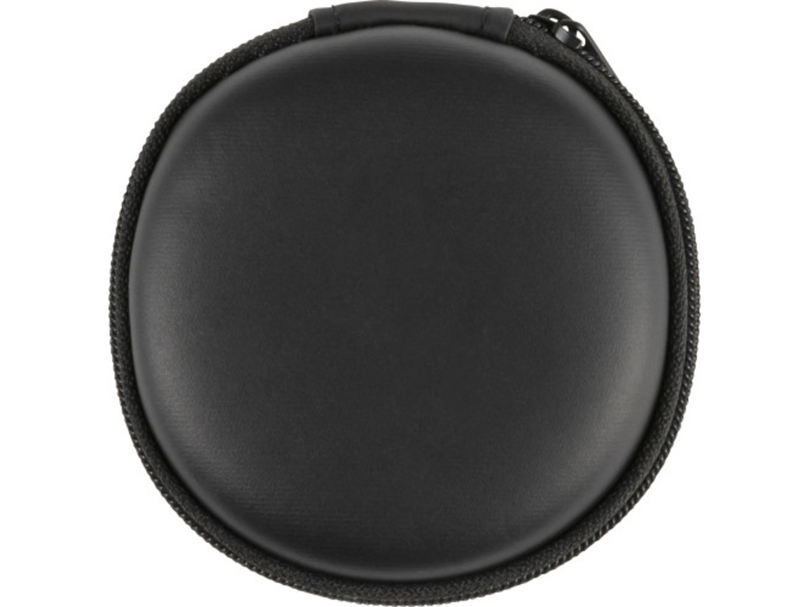 BT-Wireless In-Ear Kopfhörer 'Flamingo' mit Fernbedienung und Mikrophone – Schwarz bedrucken, Art.-Nr. 001999999_8536