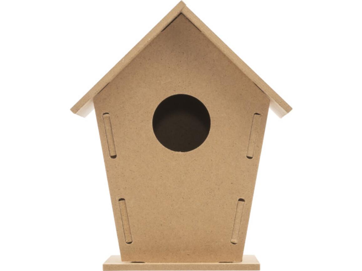 Vogelhaus 'Bird', Bausatz aus Holz – Braun bedrucken, Art.-Nr. 011999999_8606