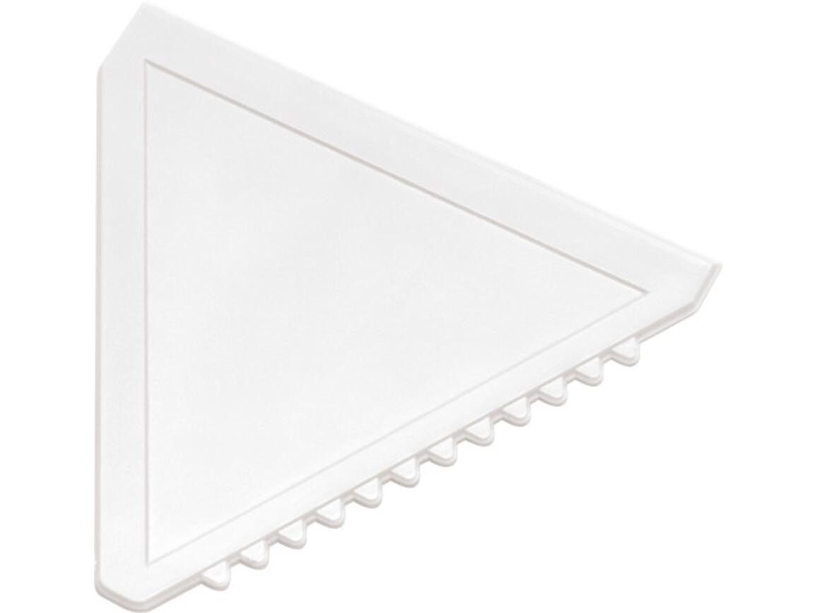 Eiskratzer  'Classic' aus Kunststoff – Weiß bedrucken, Art.-Nr. 002999999_8761