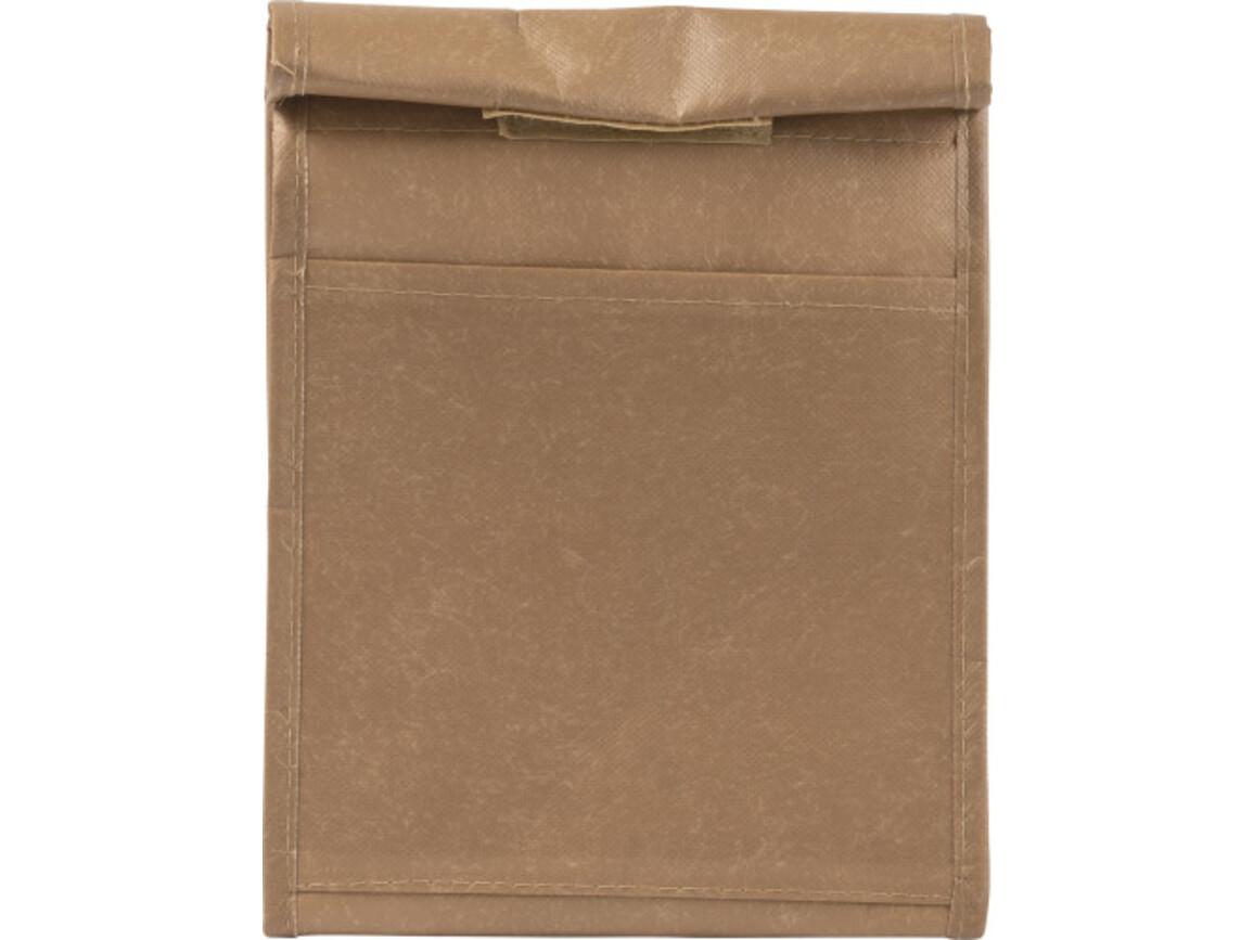 Kühltasche 'Bread' aus Non-Woven – Braun bedrucken, Art.-Nr. 011999999_8994