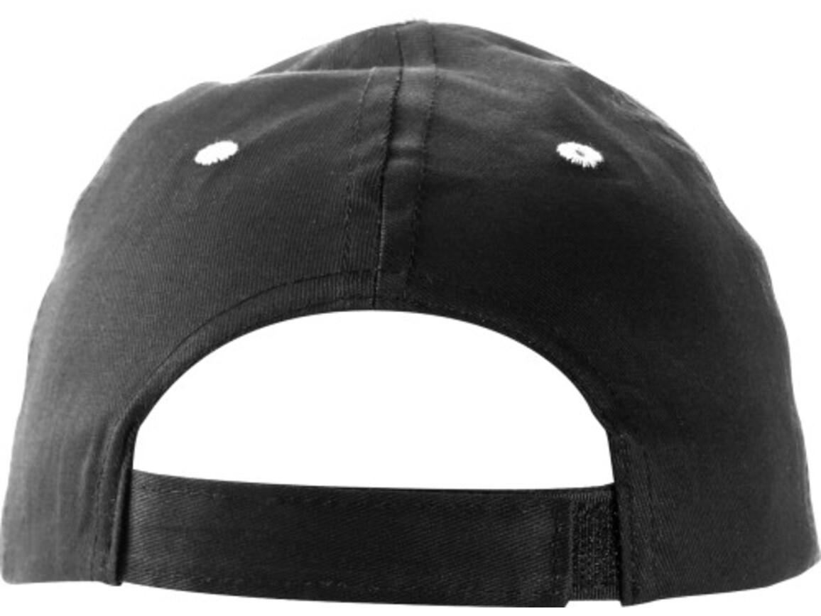 Baseball-Cap 'Chicago' aus Baumwolle – Schwarz bedrucken, Art.-Nr. 001999999_9120