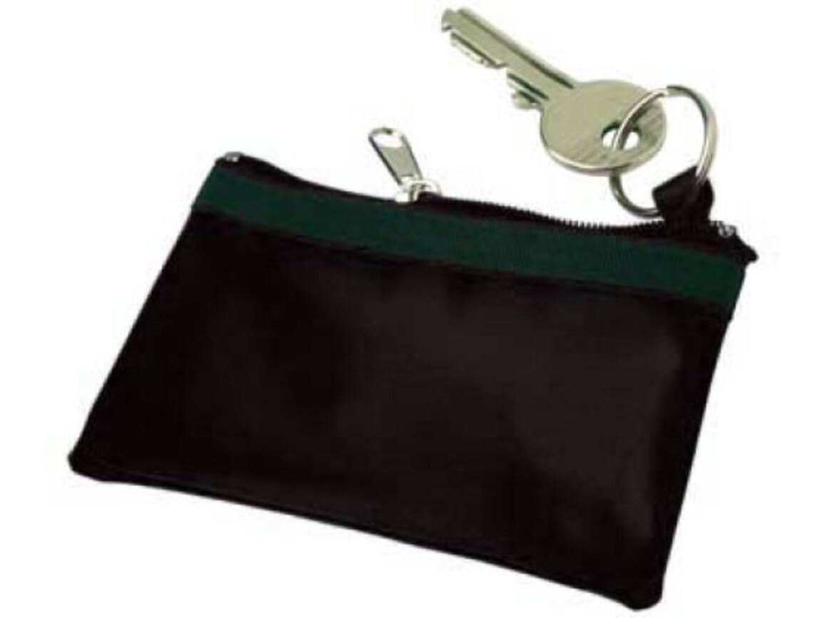 Schlüsseletui 'Edition' aus Nylon – Schwarz bedrucken, Art.-Nr. 001999999_9124