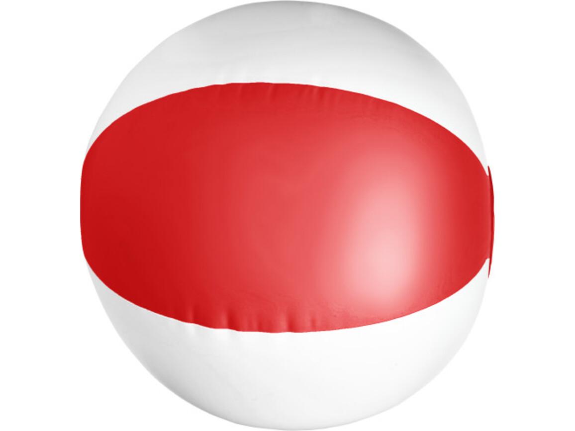 Aufblasbarer Wasserball aus PVC – Rot bedrucken, Art.-Nr. 008999999_9620