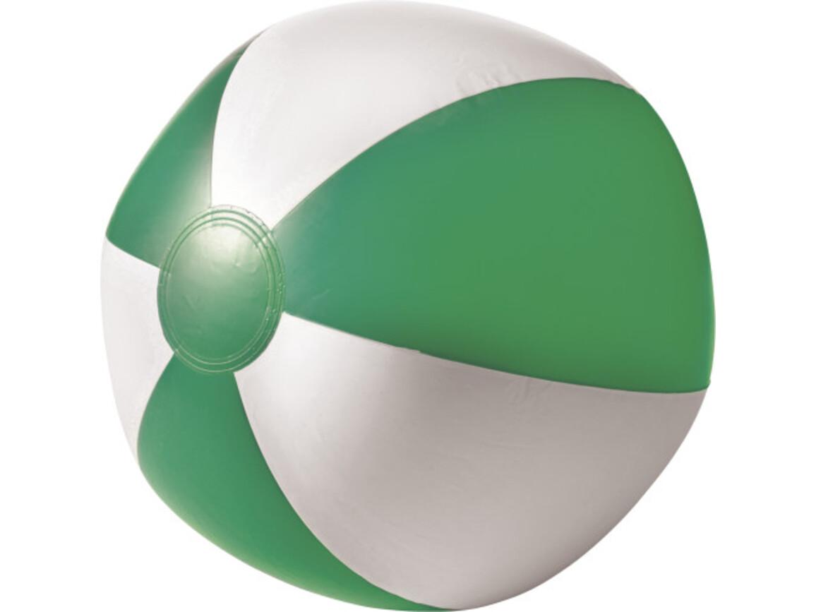 Aufblasbarer Wasserball aus PVC – Grün bedrucken, Art.-Nr. 004999999_9620