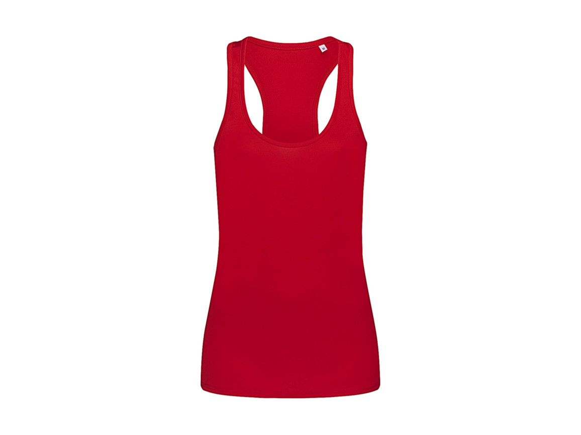 Stedman Active 140 Tank Women, Crimson Red, M bedrucken, Art.-Nr. 010054414