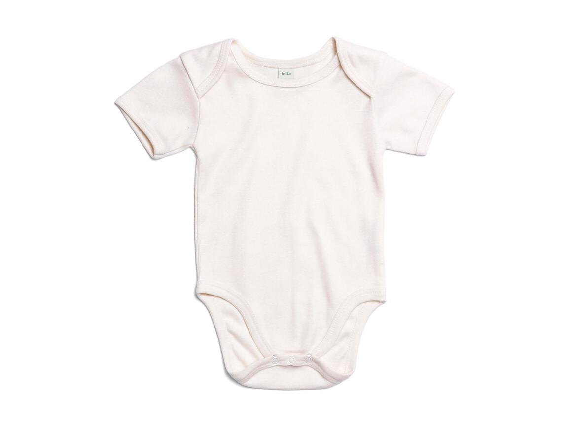 BabyBugz Baby Bodysuit, Organic Natural, 3-6 bedrucken, Art.-Nr. 010470082