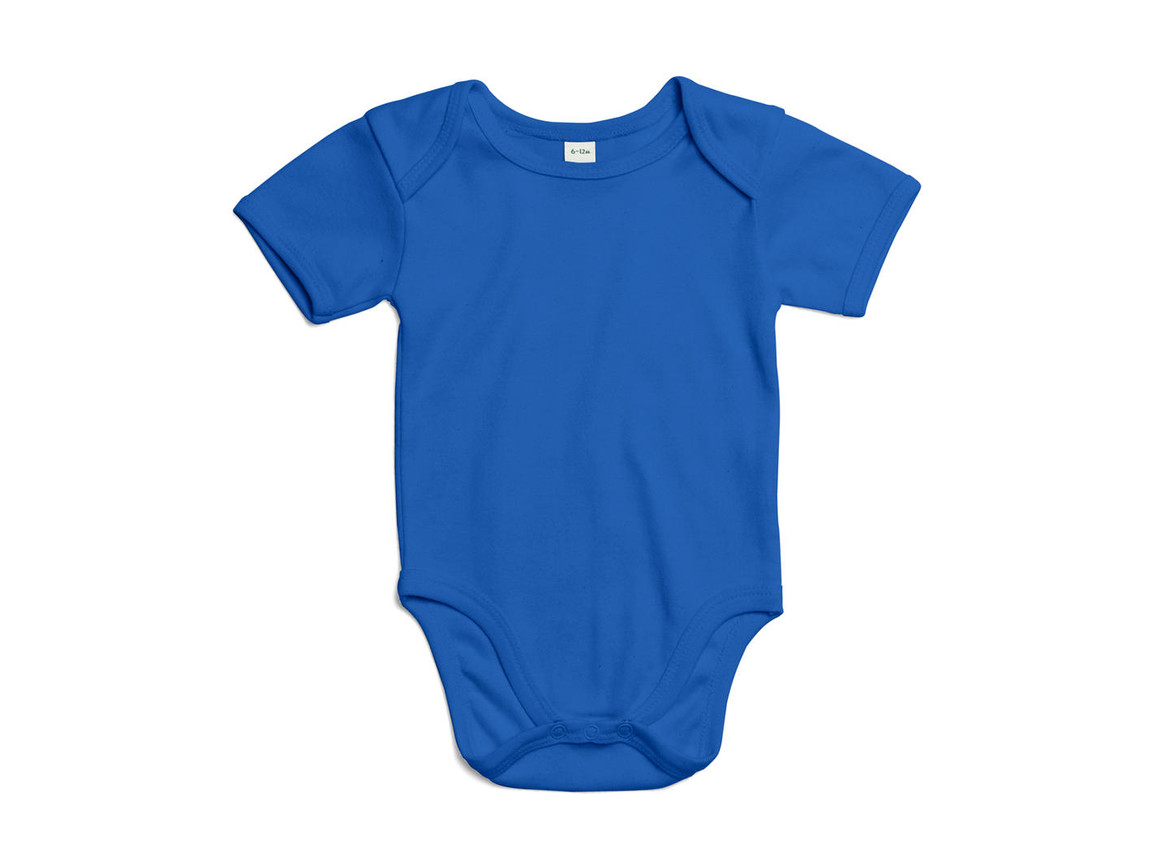 BabyBugz Baby Bodysuit, Cobalt Blue Organic, 0-3 bedrucken, Art.-Nr. 010473191