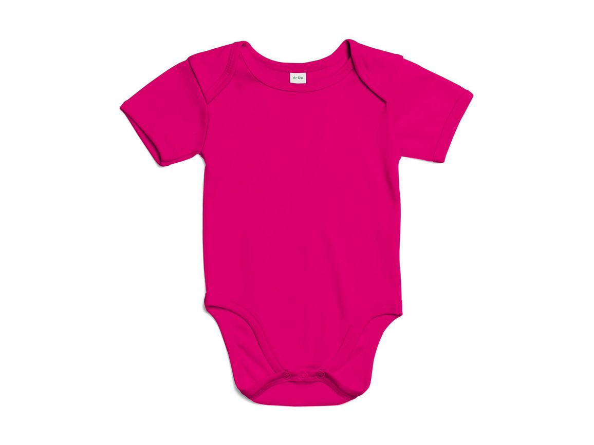 BabyBugz Baby Bodysuit, Fuchsia Organic, 3-6 bedrucken, Art.-Nr. 010474422