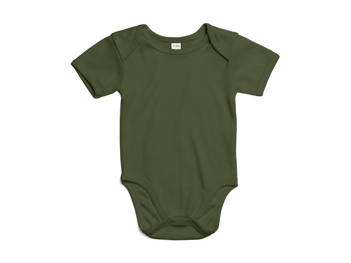 BabyBugz Baby Bodysuit, Light Olive Organic, 3-6 bedrucken, Art.-Nr. 010475292
