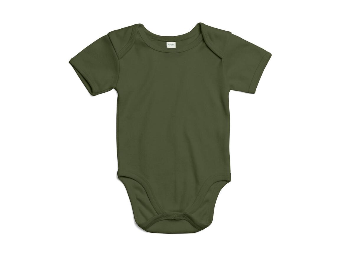 BabyBugz Baby Bodysuit, Light Olive Organic, 6-12 bedrucken, Art.-Nr. 010475293