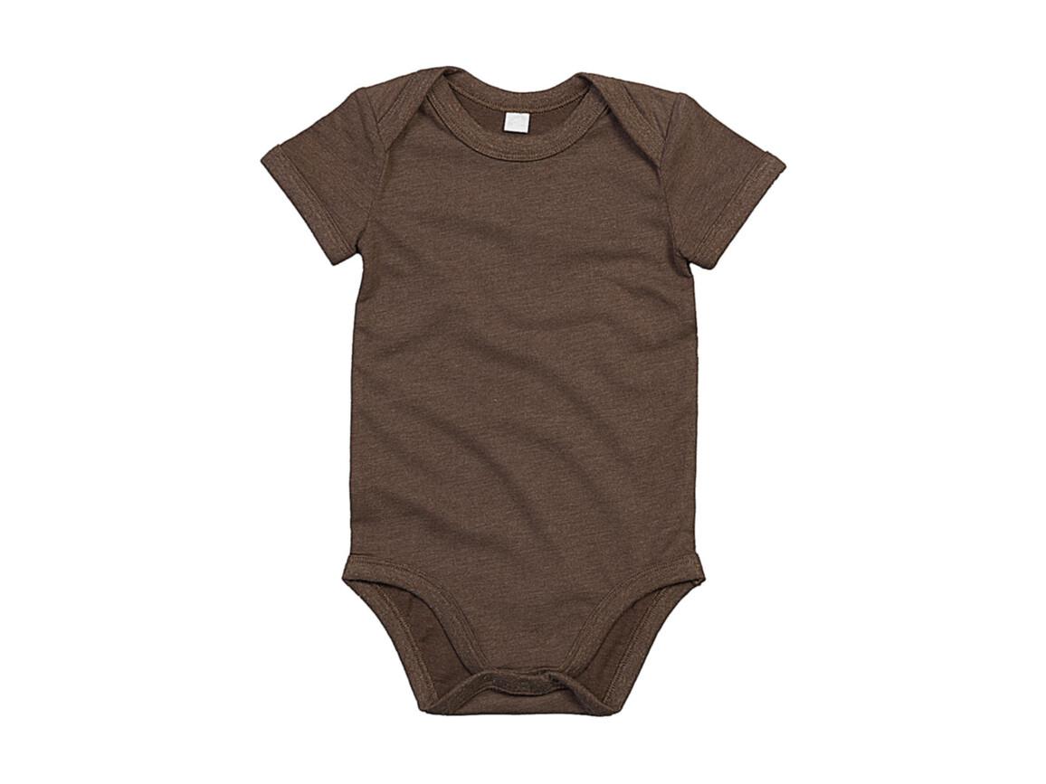 BabyBugz Baby Bodysuit, Mocha Organic, 3-6 bedrucken, Art.-Nr. 010477292