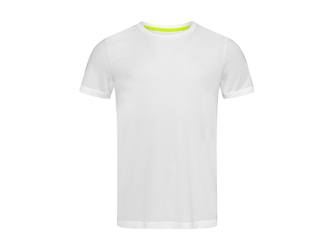 Stedman Active 140 Crew Neck Men, White, XL bedrucken, Art.-Nr. 011050006