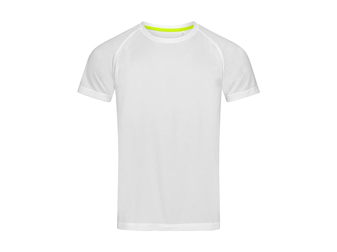 Stedman Active 140 Raglan Men, White, L bedrucken, Art.-Nr. 012050005