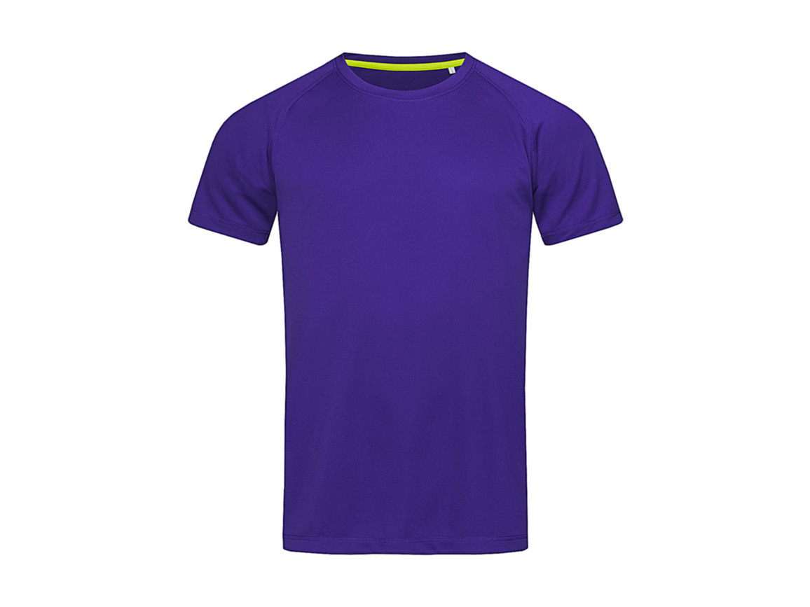 Stedman Active 140 Raglan Men, Deep Lilac, XL bedrucken, Art.-Nr. 012053136