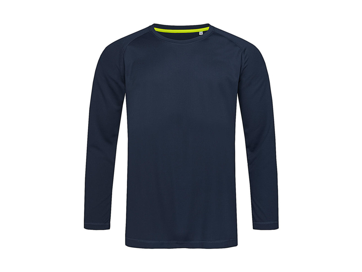Stedman Active 140 LS Men, Marina Blue, XL bedrucken, Art.-Nr. 013052076