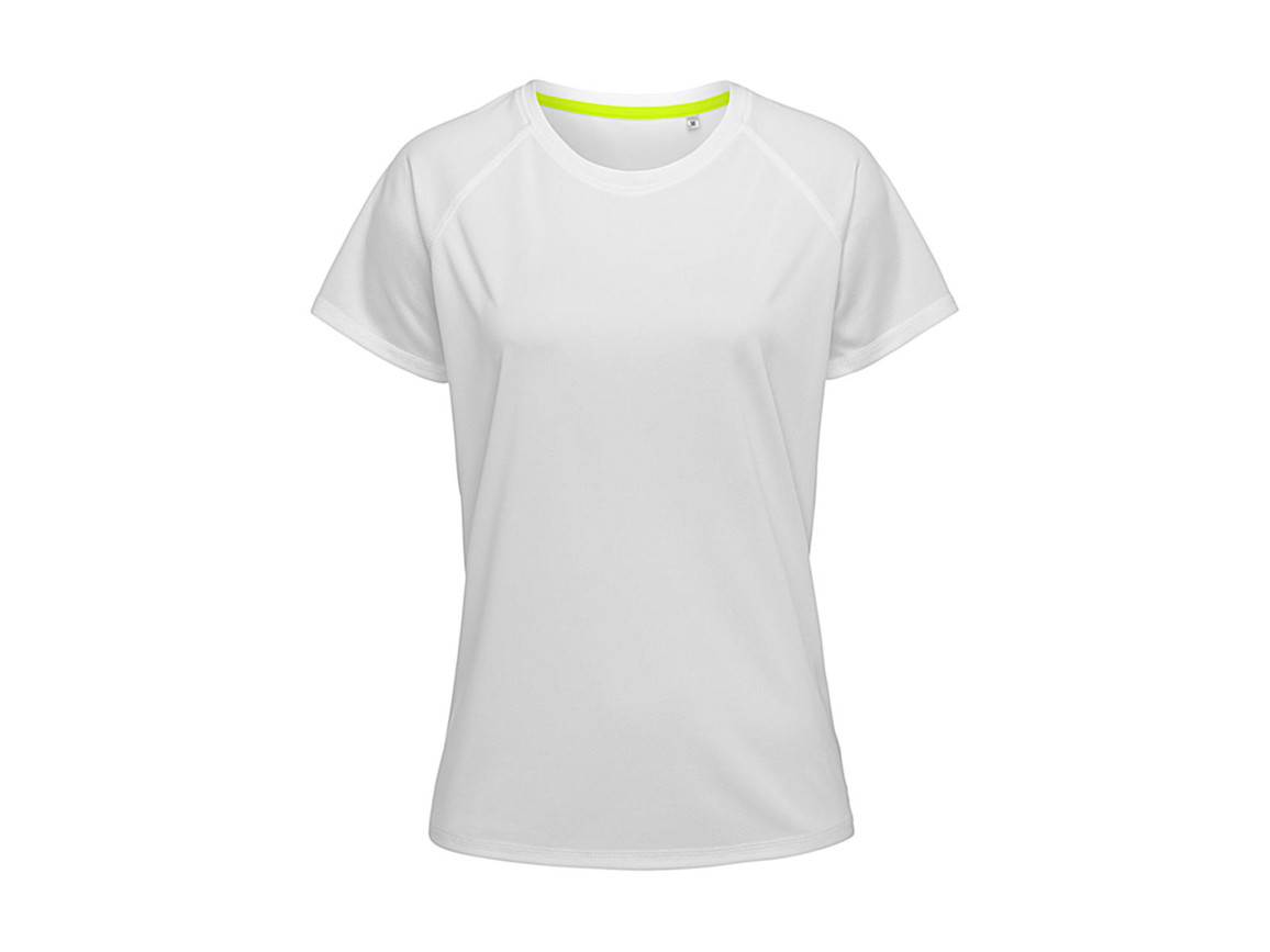 Stedman Active 140 Raglan Women, White, M bedrucken, Art.-Nr. 014050004