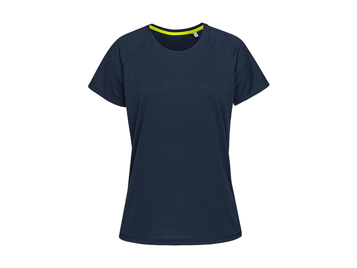 Stedman Active 140 Raglan Women, Marina Blue, XL bedrucken, Art.-Nr. 014052076