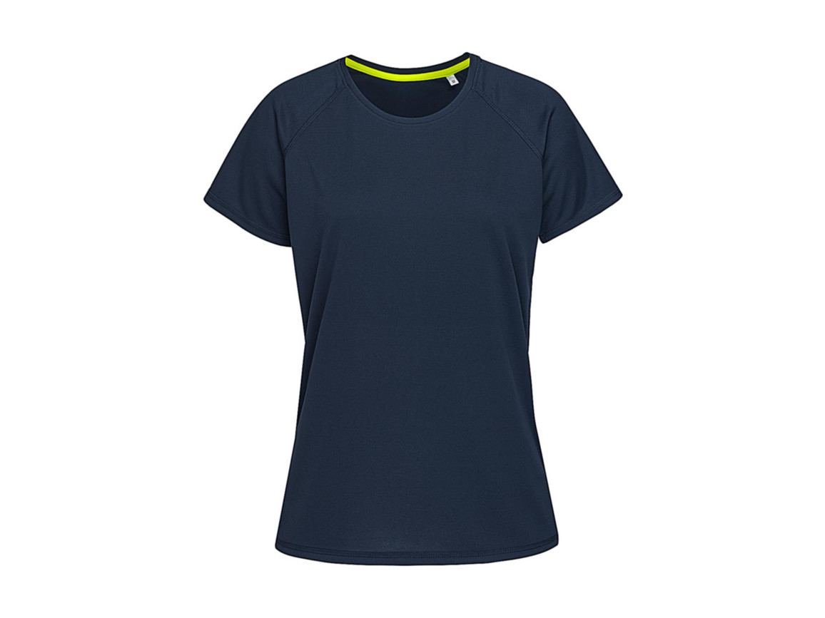 Stedman Active 140 Raglan Women, Marina Blue, L bedrucken, Art.-Nr. 014052075
