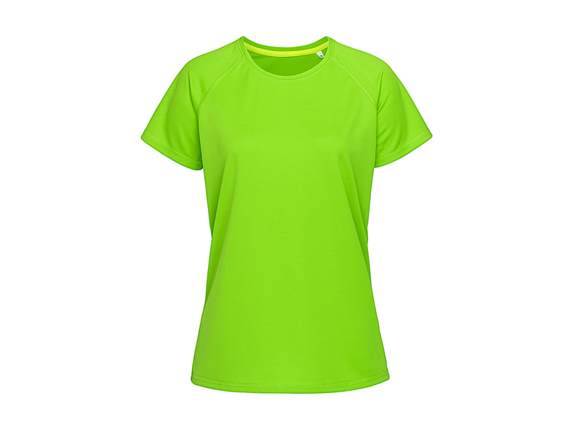 Stedman Active 140 Raglan Women, Kiwi Green, XL bedrucken, Art.-Nr. 014055256