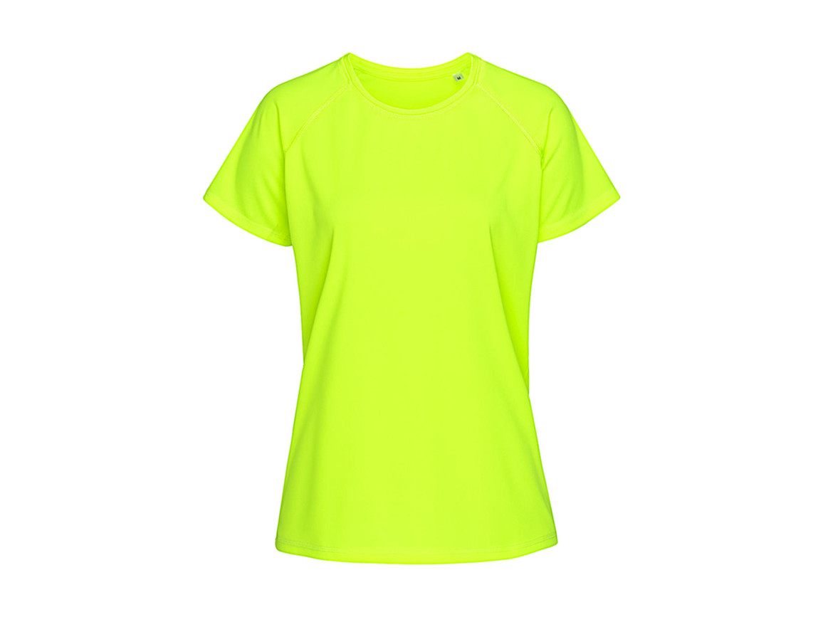 Stedman Active 140 Raglan Women, Cyber Yellow, S bedrucken, Art.-Nr. 014056063