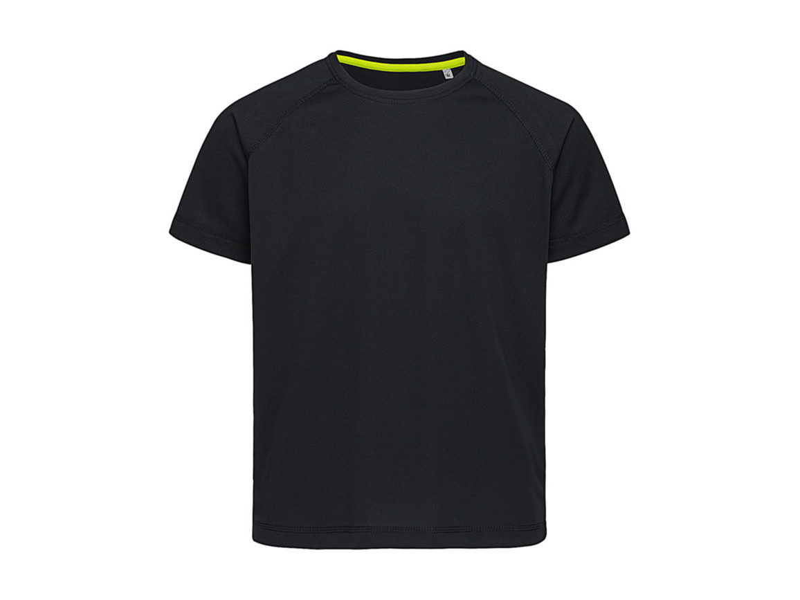 Stedman Active 140 Raglan Kids, Black Opal, XL (158-164) bedrucken, Art.-Nr. 015051026