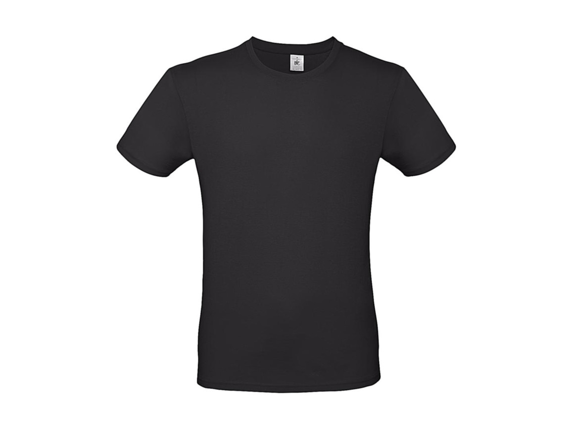 B & C #E150 T-Shirt, Used Black, 2XL bedrucken, Art.-Nr. 015421125