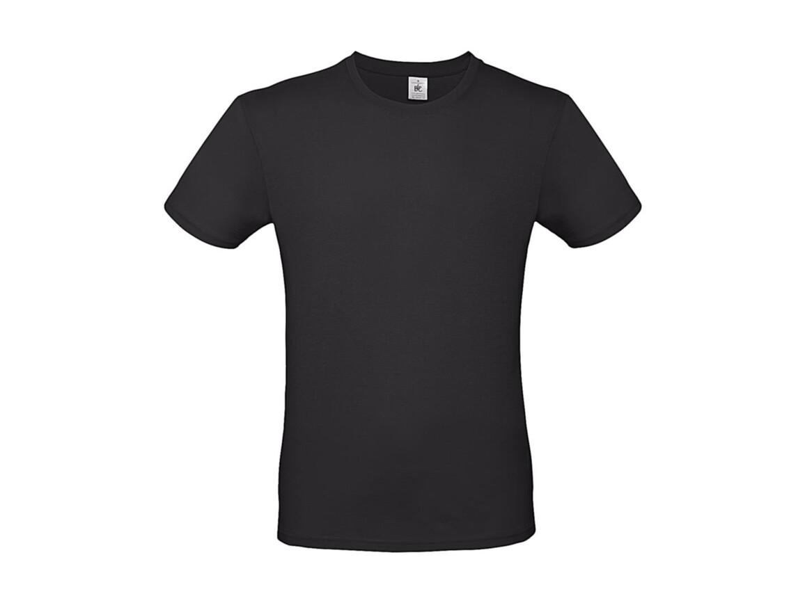 B & C #E150 T-Shirt, Used Black, L bedrucken, Art.-Nr. 015421123