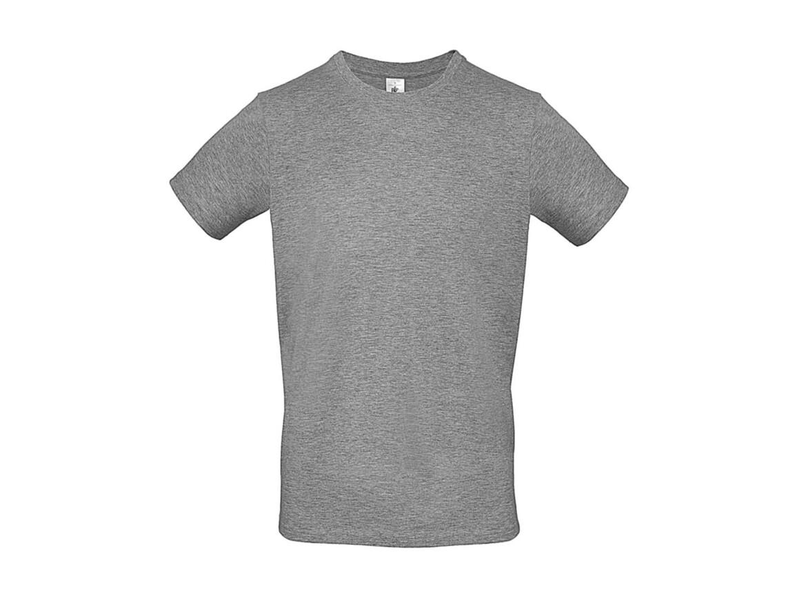 B & C #E150 T-Shirt, Sport Grey, L bedrucken, Art.-Nr. 015421253