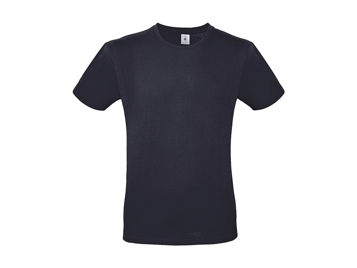 B & C #E150 T-Shirt, Light Navy, 3XL bedrucken, Art.-Nr. 015422066