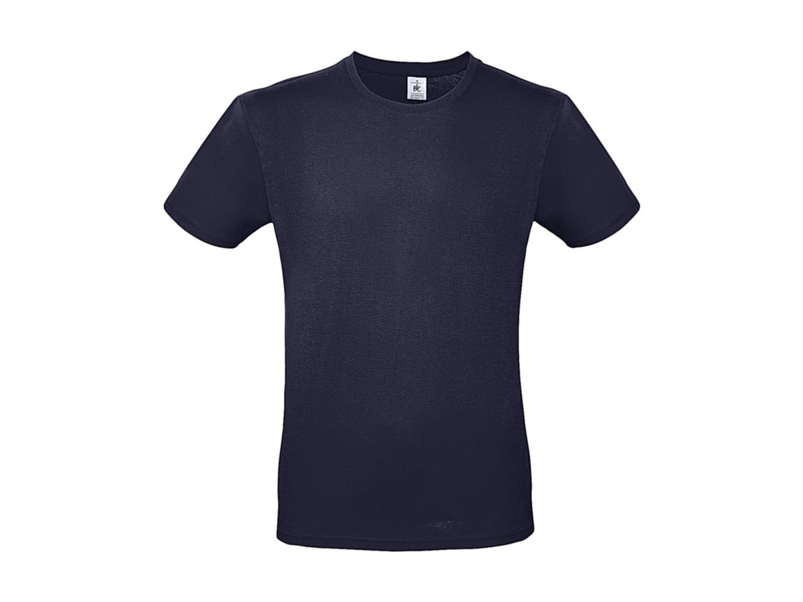 B & C #E150 T-Shirt, Urban Navy, XL bedrucken, Art.-Nr. 015422074