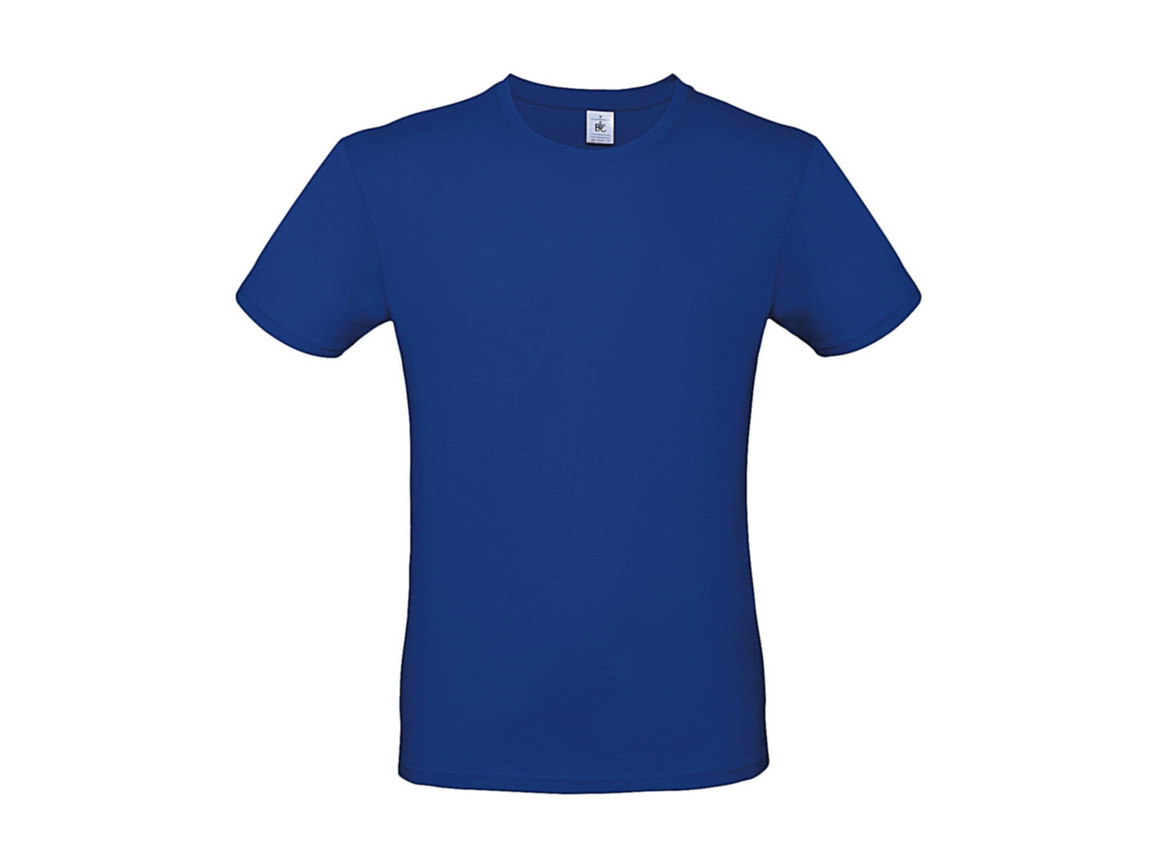 B & C #E150 T-Shirt, Royal Blue, L bedrucken, Art.-Nr. 015423003