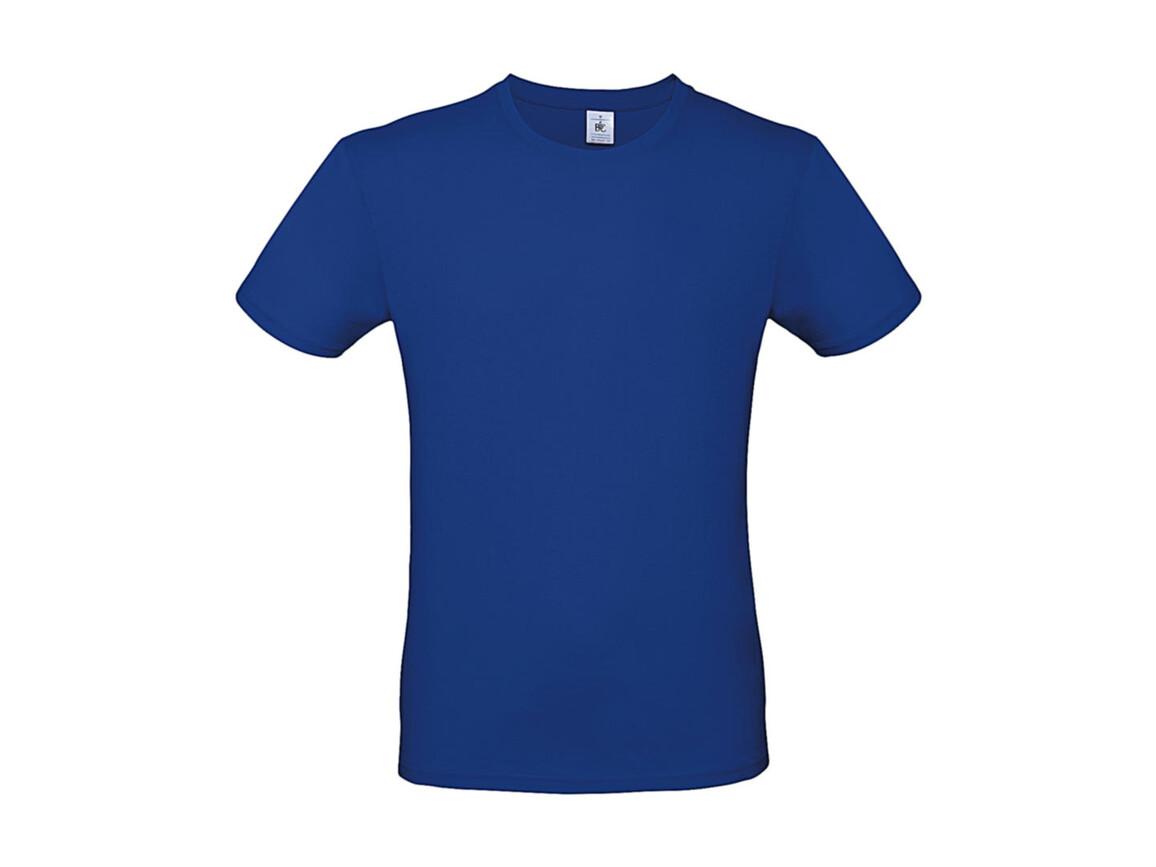 B & C #E150 T-Shirt, Royal Blue, M bedrucken, Art.-Nr. 015423002