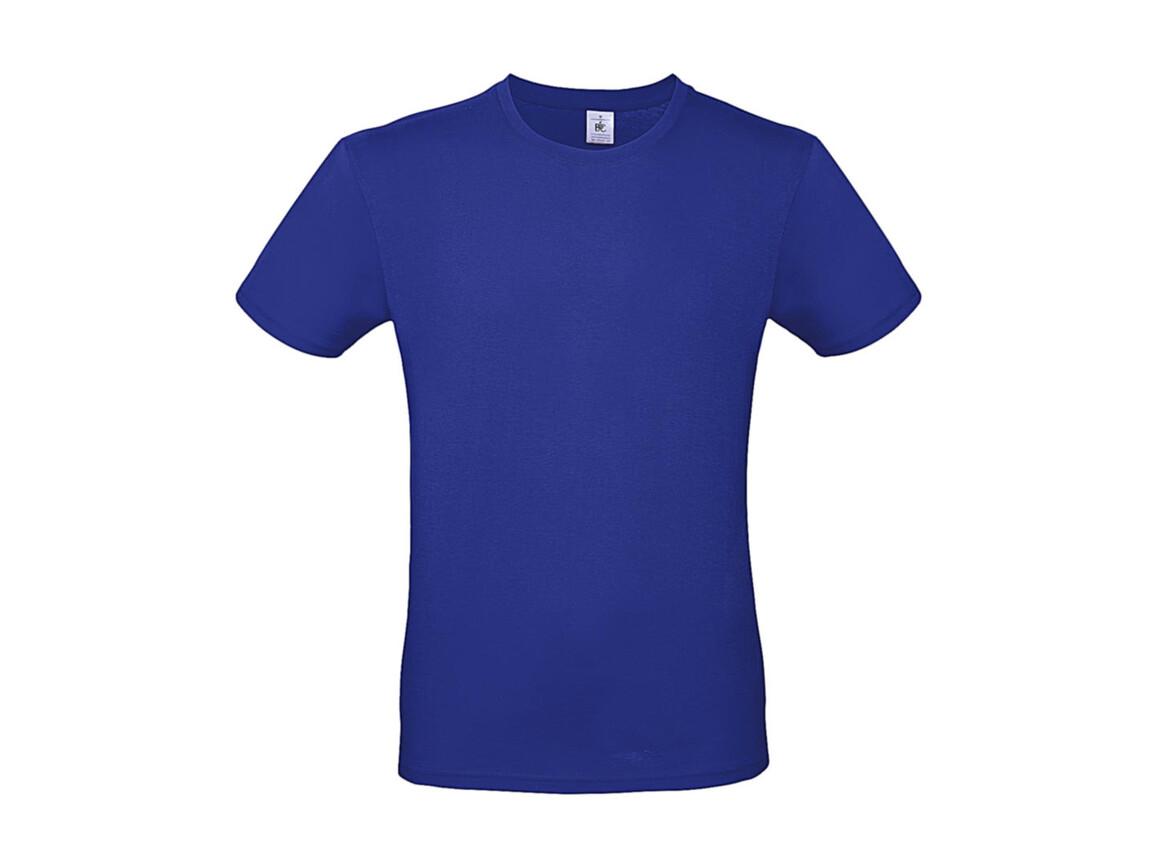 B & C #E150 T-Shirt, Cobalt Blue, XL bedrucken, Art.-Nr. 015423074
